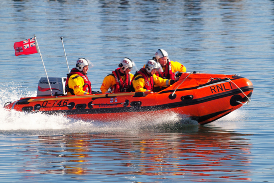 Blyth Lifeboat D746 on 28th May 2012