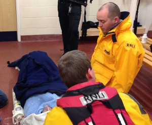 Blyth RNLI Lifeboat Causualty Care 24 April 2014