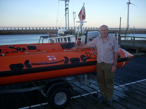 Dave Brown Blyth Lifeboat Education & Visits Officer